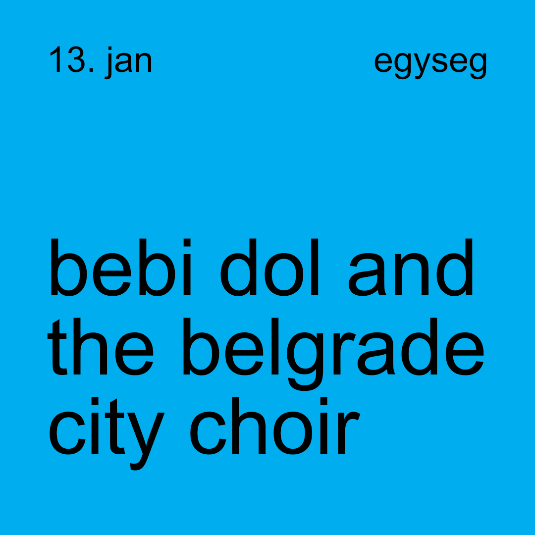 bebi dol and the belgrade city choir