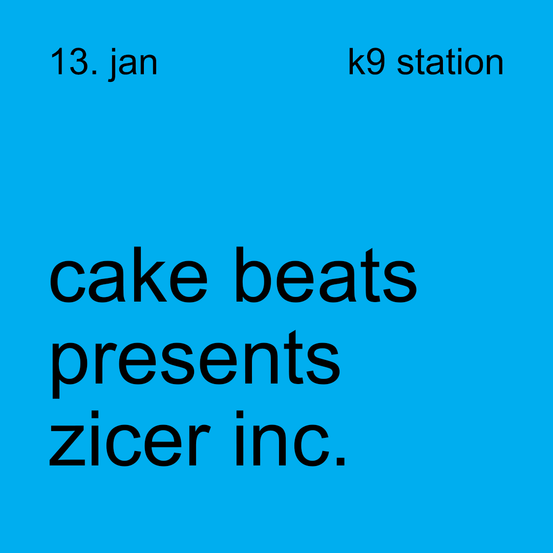 cake beats presents zicer inc.