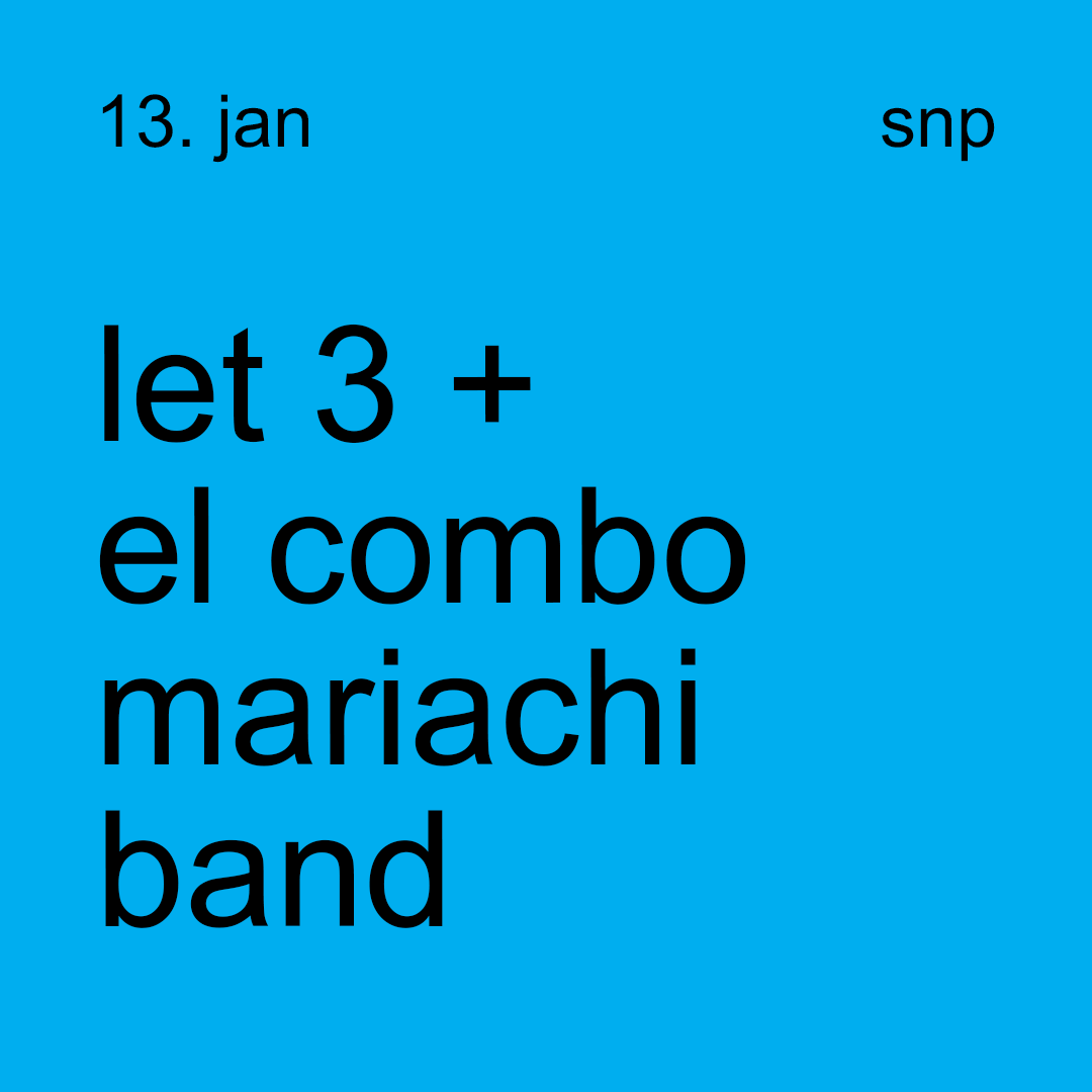 let 3 + 'el combo' mariachi band