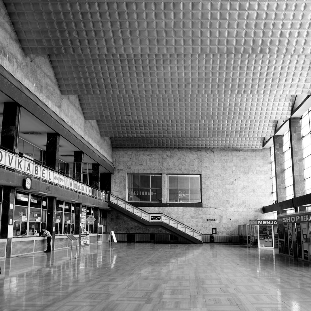 cinema room / railway station